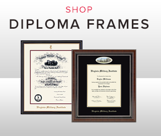 Picture of diploma frames. Click to shop diploma frames.